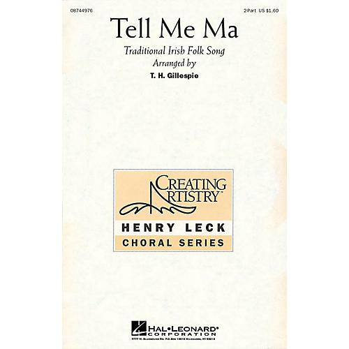 Hal Leonard Tell Me Ma 2-Part arranged by Henry Leck-thumbnail