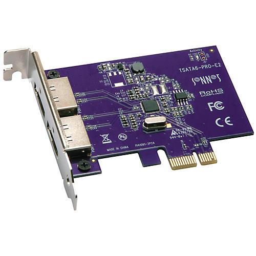 Sonnet Tempo SATA Pro 6Gb PCIe 2.0 - 2-Port eSATA Host Controller Card