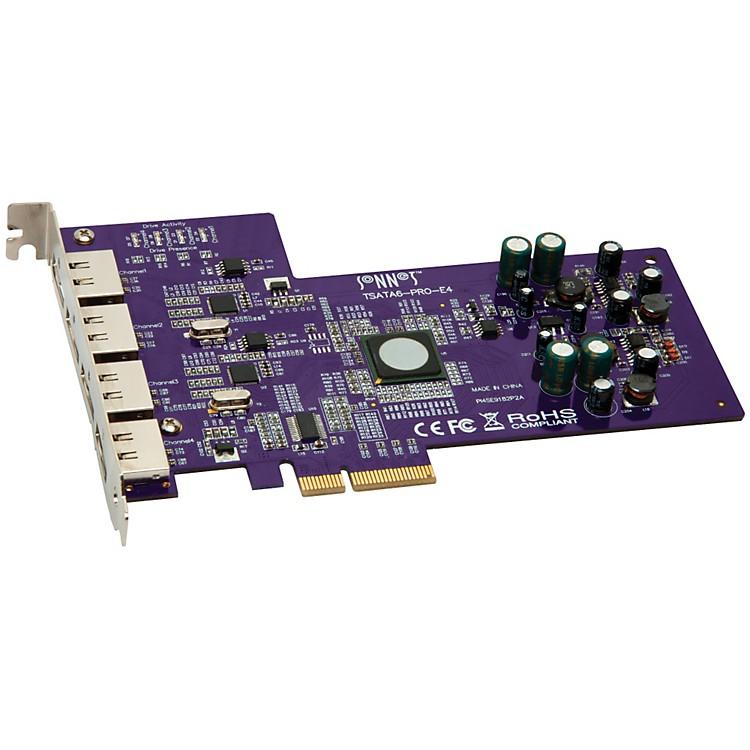 SonnetTempo SATA Pro 6Gb PCIe 2.0 -  4-port eSATA Host Controller Card
