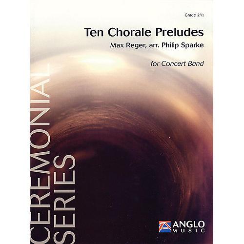 De Haske Music Ten Chorale Preludes Ceremonial Series Gr 2.5 Concert Band Full Score Full Score Concert Band