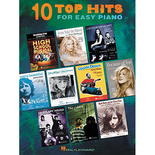 Hal Leonard Ten Top Hits For Easy Piano - 2006 Edition