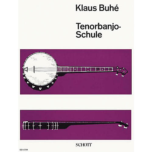 Schott Tenor Banjo Schule (German Language Method) Schott Series-thumbnail