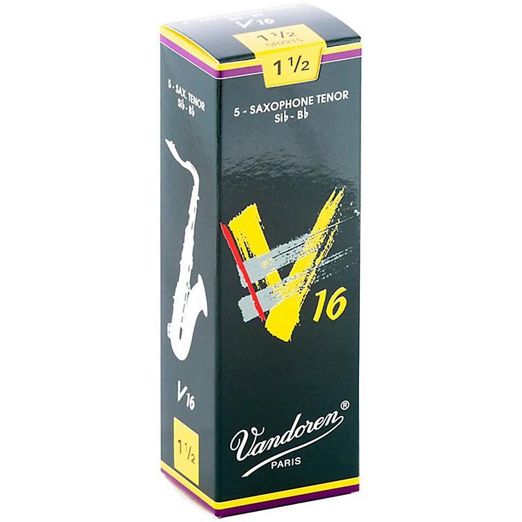VandorenTenor Sax V16 ReedsStrength 1.5Box of 5