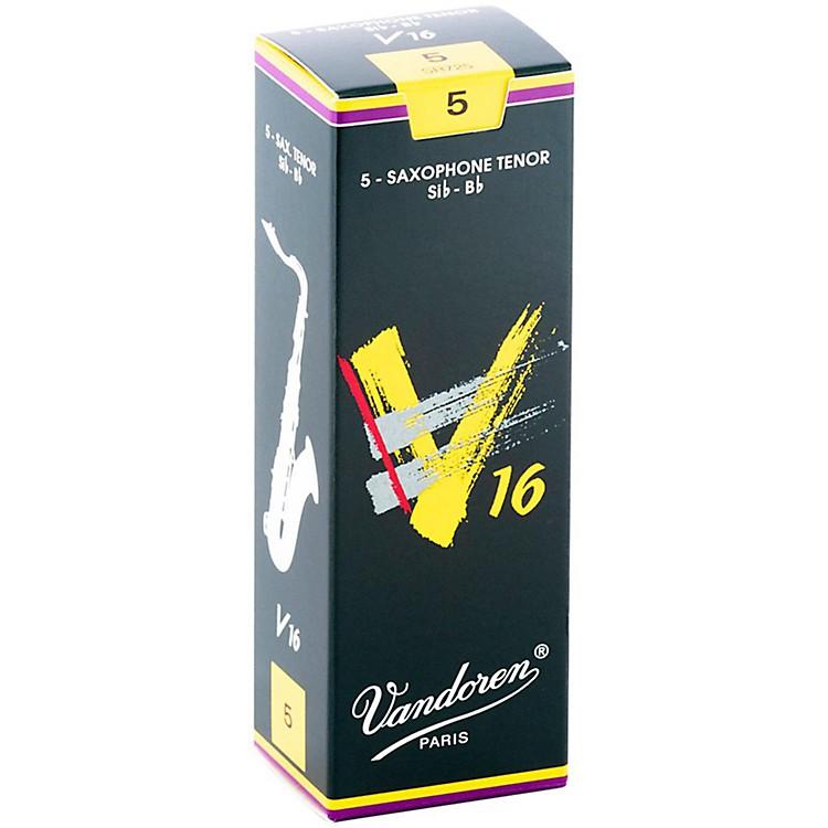 VandorenTenor Sax V16 ReedsStrength 5Box of 5