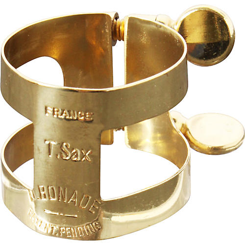 Bonade Tenor Saxophone Ligatures and Caps Lacquer - Inverted - Ligature Only