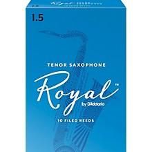 Rico Royal Tenor Saxophone Reeds, Box of 10 Strength 1.5