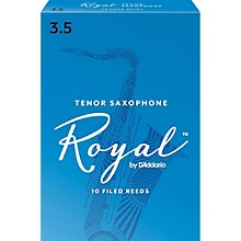 Rico Royal Tenor Saxophone Reeds, Box of 10 Strength 3.5