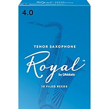 Rico Royal Tenor Saxophone Reeds, Box of 10 Strength 4