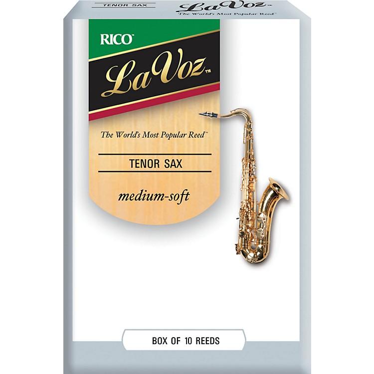 La VozTenor Saxophone ReedsMedium SoftBox of 10