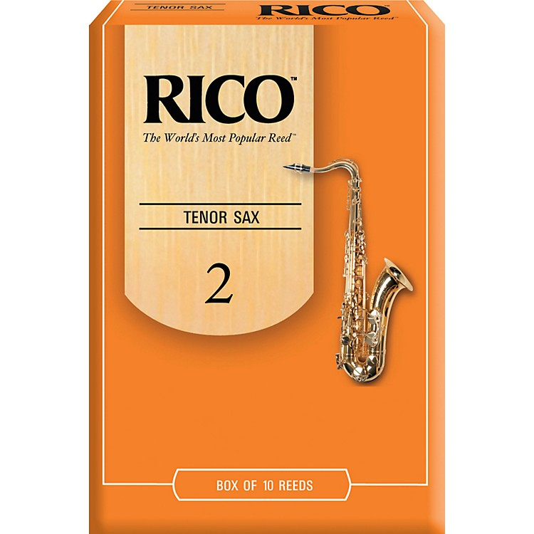 RicoTenor Saxophone ReedsStrength 2Box of 10