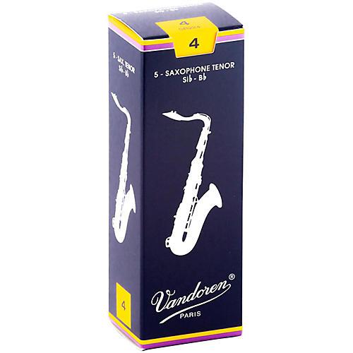 Vandoren Tenor Saxophone Reeds Strength 4 Box of 5