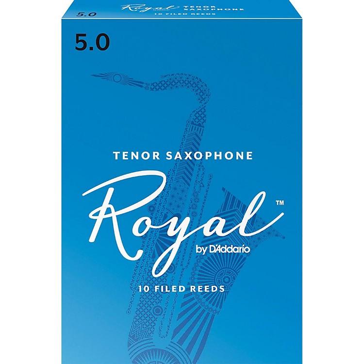 Rico RoyalTenor Saxophone ReedsStrength 5Box of 10