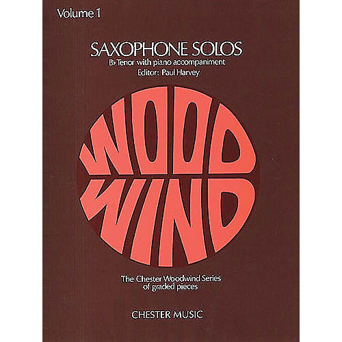 Music Sales Tenor Saxophone Solos Volume 1 Music Sales America Series
