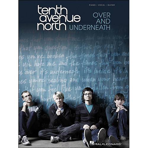 Hal Leonard Tenth Avenue North - Over And Underneath arranged for piano, vocal, and guitar (P/V/G)-thumbnail