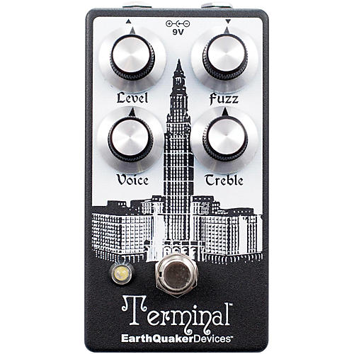 EarthQuaker Devices Terminal V2 Fuzz Guitar Effects Pedal-thumbnail
