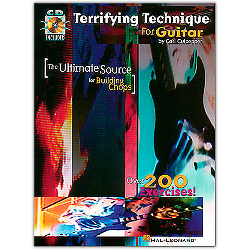 Hal Leonard Terrifying Technique for Guitar