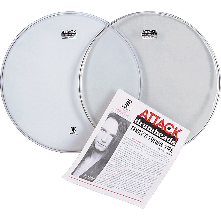 Attack Terry Bozzio Snare Drumhead Value Pack