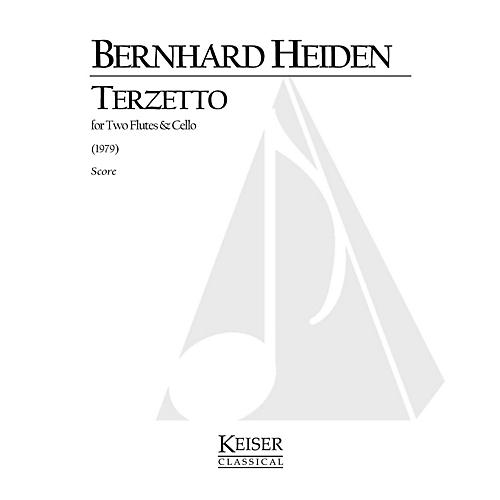 Lauren Keiser Music Publishing Terzetto (for 2 Flutes and Cello) LKM Music Series Composed by Bernhard Heiden-thumbnail