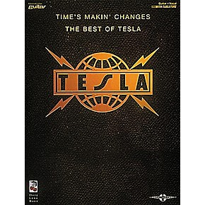 Hal Leonard Tesla Times Makin Changes Book Musician S