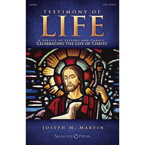 Shawnee Press Testimony of Life SPLIT TRAX Composed by Joseph M. Martin-thumbnail