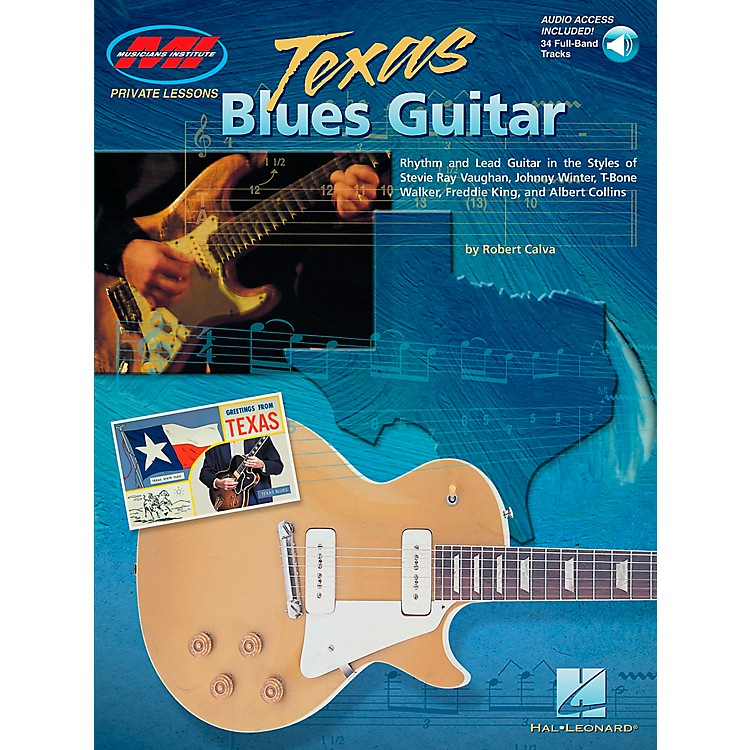 Hal Leonard Texas Blues Guitar Book/CD