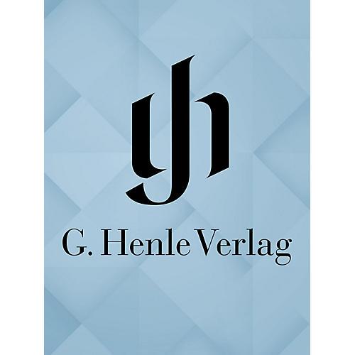 G. Henle Verlag TextbÜcher Verschollener Singspiele Henle Edition Series Hardcover