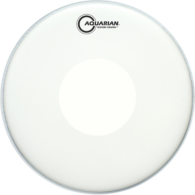 Aquarian Texture Coated Power Dot Drumhead  14 Inches