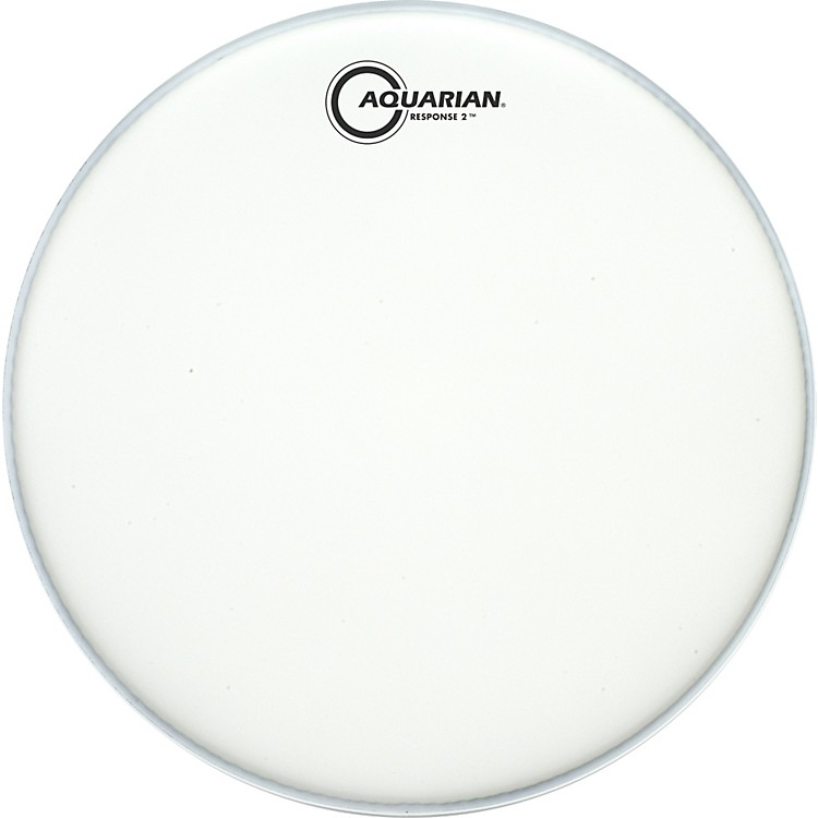 Aquarian Texture Coated Response 2 Drumhead  8 Inches