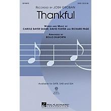 Hal Leonard Thankful ShowTrax CD Arranged by Rollo Dilworth