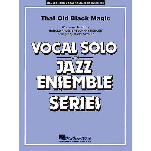 Hal Leonard That Old Black Magic Jazz Band Level 3-4 Composed by Harold Arlen-thumbnail