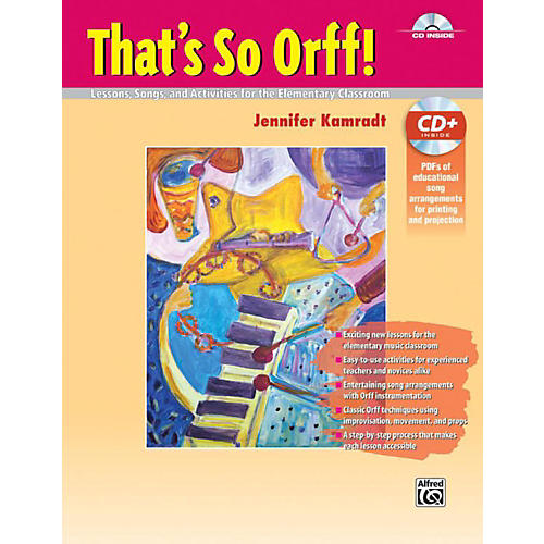 Alfred That's So Orff!  Book & Data CD