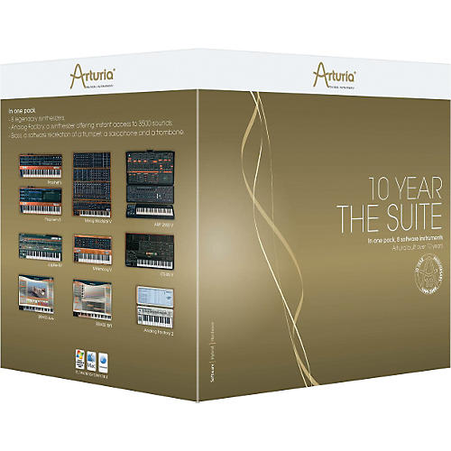 Arturia The 10 Year Suite Virtual Instruments-thumbnail