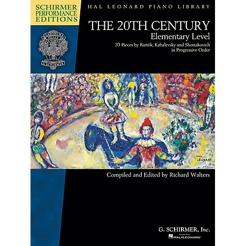 G. Schirmer The 20th Century - Elementary Level Schirmer Performance Editions Softcover-thumbnail