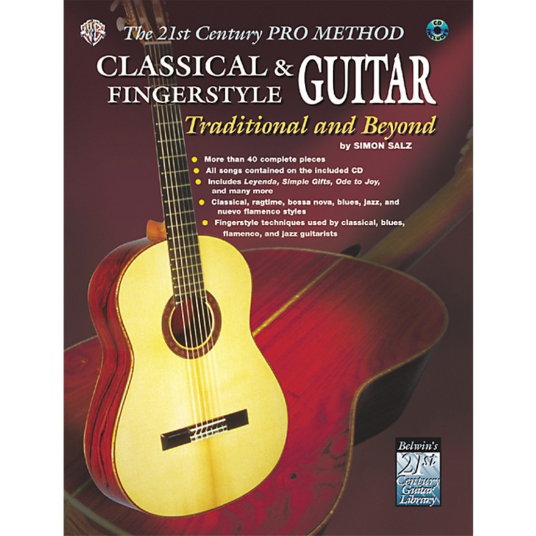 AlfredThe 21st Century Pro Method: Classical & Fingerstyle Guitar Traditional & Beyond Book with CD