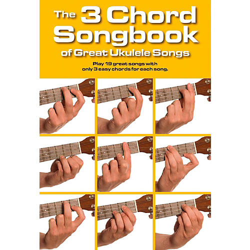 Music Sales The 3 Chord Songbook of Great Ukulele Songs-thumbnail
