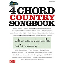 Cherry Lane The 4-Chord Country Songbook - Strum & Sing Easy Guitar Series Softcover Performed by Various