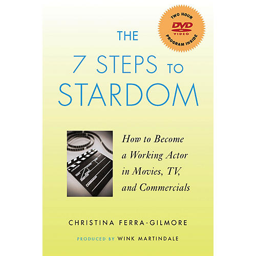 Applause Books The 7 Steps to Stardom Applause Books Series Softcover with DVD Written by Christina Ferra-Gilmore-thumbnail