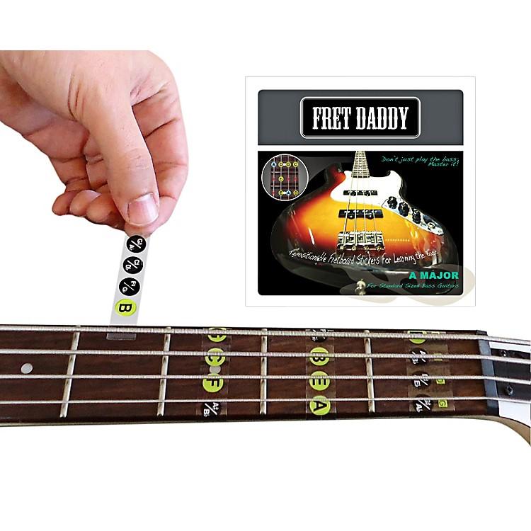 Fret DaddyThe A Major Scale for Bass Guitar