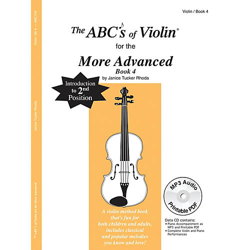 Carl Fischer The ABC's Of Violin for the More Advanced, Bk 4 (Book + CD)-thumbnail