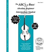 Carl Fischer The ABC's of Bass for the Absolute Beginner to the Intermediate Student Book with CD