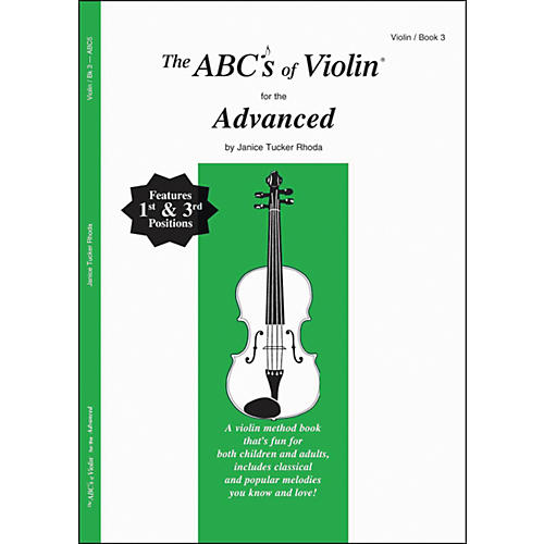 Carl Fischer The Abcs Of Violin For The Advanced, Bk 3 Book