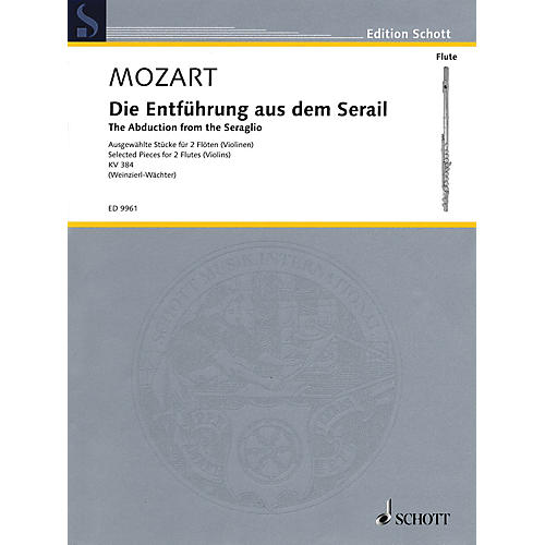 Schott The Abduction from the Seraglio (Die Entfuhrung Aus Dem Serail) Ensemble by Wolfgang Amadeus Mozart-thumbnail