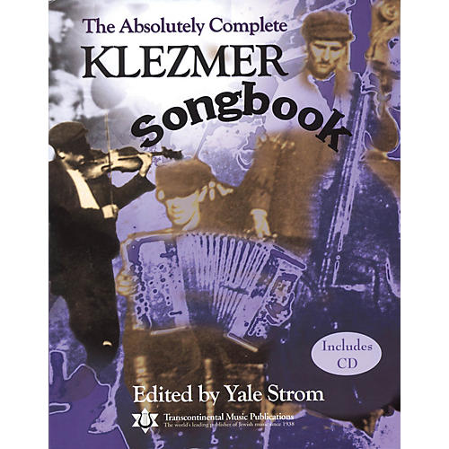 Transcontinental Music The Absolutely Complete Klezmer Songbook Transcontinental Music Folios Series Softcover with CD-thumbnail