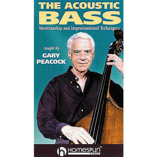 Homespun The Acoustic Bass (VHS)