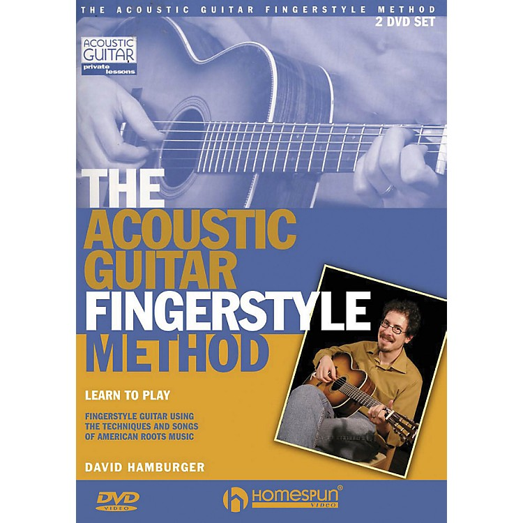 Homespun The Acoustic Guitar Fingerstyle Method 2 DVD Set