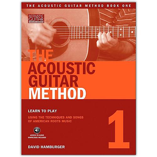 String Letter Publishing The Acoustic Guitar Method 1 (Book/CD)