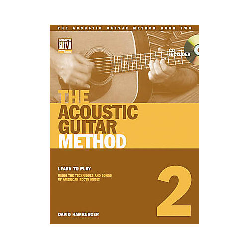 String Letter Publishing The Acoustic Guitar Method 2 (Book/CD)-thumbnail