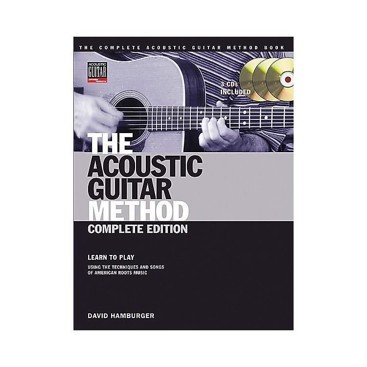 Hal LeonardThe Acoustic Guitar Method Book with Online Audio Tracks