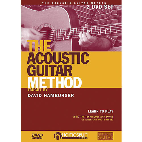 Homespun The Acoustic Guitar Method (DVD)