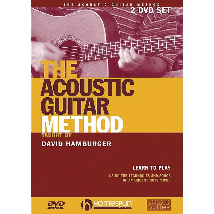 HomespunThe Acoustic Guitar Method (DVD)